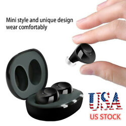 A39 Mini Hearing Aids Invisible 1 Pair Enhancer Sound Voice Amplifier Assist New