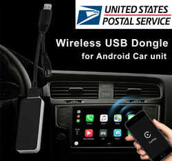 Car Wireless Carplay USB Dongle Android Iphone For Android Navigation Head Unit