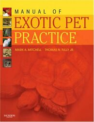 Manual of Exotic Pet Practice 1e DECZM (Avian) 9781416001195 Free Shipping.=