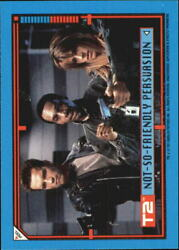 1991 Terminator II Judgment Day Stickers #19 Not-So-Friendly Persuasion