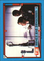 1991 Terminator II Judgment Day Stickers #20 Armed and Dangerous