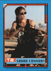 1991 Terminator II Judgment Day Stickers #3 Sarah Connor