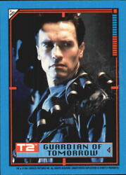 1991 Terminator II Judgment Day Stickers #21 Guardian of Tomorrow