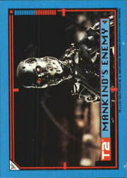 1991 Terminator II Judgment Day Stickers #41 Mankind's Enemy