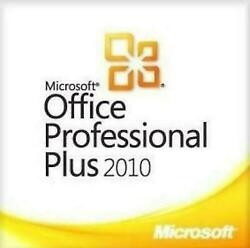 Microsoft Office Professional 2010 Plus Full version 1 PC ✅ Fast delivery