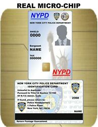 USA ID COLLECTOR CARDS lt;lt;NYPDgt;gt; $45.00