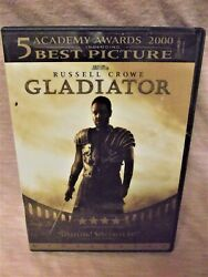 Gladiator DVD  Russell Crowe  Like NEW  AWESOME Sale