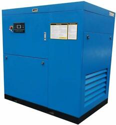 50 HP 3-Phase Rotary Screw Air Compressor 230V46060Hz Programmable Industrial