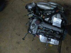 Engine 03  Jaguar S Type Late Vin Fits Up To 08 Run Good  101K Last Six On...