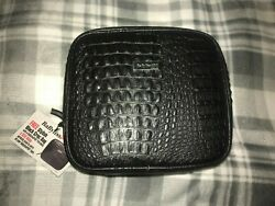 NEW BABYLISS PRO BLACK CROC BAG TO CARRY BABYLISS PRO TOOLS TRAVEL MAKEUP $14.00