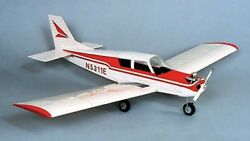 HERR Piper Cherokee Balsa Wood Model Scale RC Remote Control Airplane Kit HRR504 $64.95