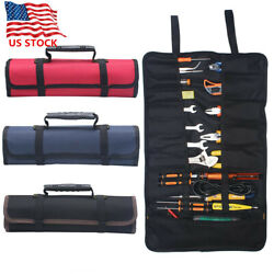 Multi-function Electrician Tool Pocket Bags Roll Up Storage Organizer Bags Pouch $10.49