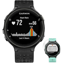 Garmin Forerunner 235 GPS Watch with Heart Rate Monitor Black Screen Protector $159.99