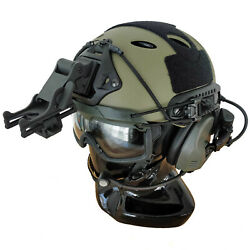 Custom FAST Tactical Bump Helmet + Electronic Earmuffs + ANSI Goggles + More  $549.00