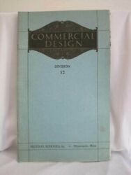 Federal School of Commercial Design Books 12 Minneapolis MN 1923 Vintage