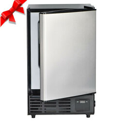Smad Built In Undercounter Commercial Ice Maker Stainless Steel Ice Cube Machine