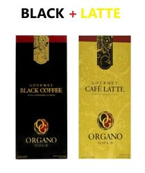 1 BOX ORGANO GOLD BLACK 1 BOX ORGANO GOLD CAFE LATTE GANODERMA EXPRESS $39.99