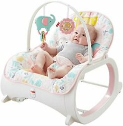 Infant to Toddler Rocker Pink Baby Seat Swing Chair Bouncer For Newborn $57.99