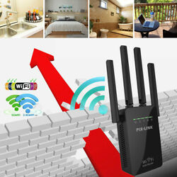 AC1200 Wifi Repeater Wireless 300Mbps Range Extender Signal Booster Router US $17.30