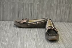 Vionic Alice Holiday Women#x27;s Moccasins Choose Your Size Grey $40.46