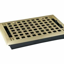 Madelyn Carter Artisan Brushed Brass Floor and Wall and Floor Vent Covers $47.30