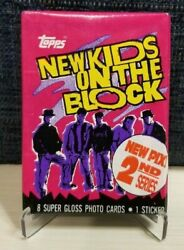 1990 Topps New Kids on The Block Series 2 Unopened Pack $2.50