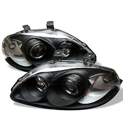 Spyder Auto 5010902 Halo Projector Headlights Fits 96-98 Civic