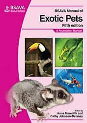 BSAVA Manual of Exotic Pets by Meredith  New 9781905319169 Fast Free Shipping--