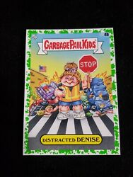 2020 Garbage Pail Kids Booger GREEN BORDER 4b DISTRACTED DENISE LATE TO SCHOOL $3.00