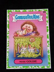 2020 Garbage Pail Kids Booger GREEN BORDER NOSE GOLDIE LATE TO SCHOOL $3.00