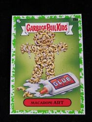 2020 Garbage Pail Kids Booger GREEN BORDER 19a MACARONI ART LATE TO SCHOOL $3.00