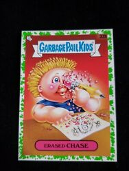 2020 Garbage Pail Kids Booger GREEN BORDER 32b ERASED CHASE LATE TO SCHOOL $3.00