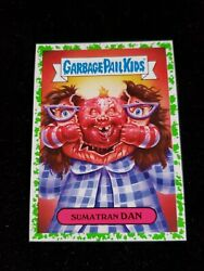2019 Garbage pail Kids Horror-ible Sumatran Dan 6b Green Border  $3.00