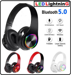 Bluetooth 5.0 Wireless Stereo Gaming Headset Headphone Noise Cancelling With Mic $22.95