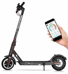 """Swagtron High Speed Electric Scooter 8.5"""" Cushioned Tires Cruise Control SG-5S B $278.99"""