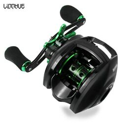 LINNHUE Best Baitcasting Reel 8.1:1 6.3:1 7.2:1 7.0:1 Bass Fishing Reel 8KG Max $27.78