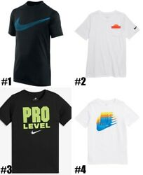 New Nike Big Boys Graphic Print T Shirt Choose Color and Size $14.99