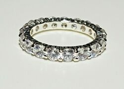 Charter Club Ring Size 8 Silver Tone  New Over Stock With Out Tags  $3.00