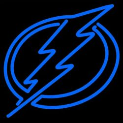 Tampa Bay Lightning Neon Sign 20quot;x16quot; Beer Bar Windows Decor Glass Bar $137.59