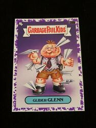 2020 Garbage Pail Kids PURPLE BORDER 20b GLIDER GLENN LATE TO SCHOOL $4.00