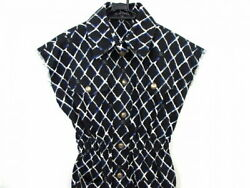 Used Chanel One Piece Size 36 S Women Here Beach P59121V44978 Black White Blue