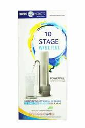New Wave Enviro Premium 10 Stage Countertop Filter System $124.99