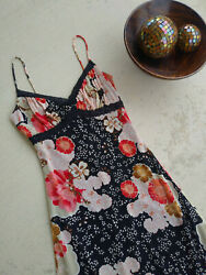 Black Floral Bohemian Dress by Charlotte Russe Size Small $12.00