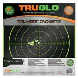 Truglo 12x12 Target 100 Yard 50 Pack TG10A50 $46.54