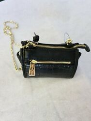 Olivia and Joy New York handbag purse with gold colored metal chain strap $16.99