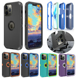 Fr Apple iPhone 12 11 Pro Max Case Hybrid Shockproof Armor Protective Hard Cover $7.55