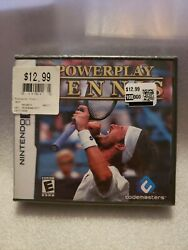 Power Play Tennis for Nintendo DS New SEALED $6.99
