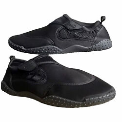 Air Balance Water Shoes Black Beach Pool Shoes All Size 8-13 $16.49