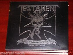Testament: The Formation Of Damnation Deluxe Tour Edition 2 CD ECD Set 2010 NEW $12.95