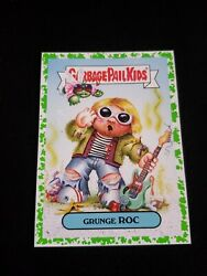 2019 Garbage Pail Kids We Hate the '90s GREEN BORDER 2b GRUNGE ROC GPK $3.00